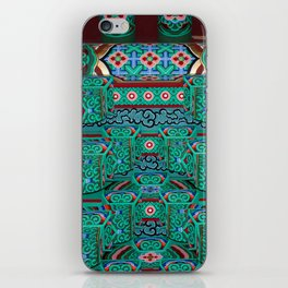 Eaves of a Buddhist Temple iPhone Skin
