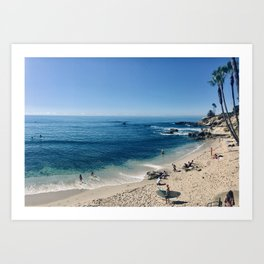 Laguna on my mind II Art Print