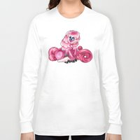 jem Long Sleeve T-shirts featuring Jem Demon Pony by Shaman Soul Studios