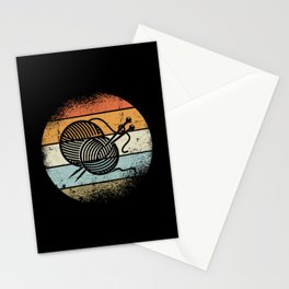 Knitting Motif Stationery Cards