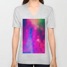Vibrant Falling Light Unisex V-Neck