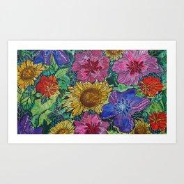 Carmen's Garden Art Print
