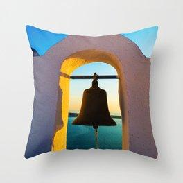 island church Throw Pillow
