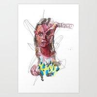 Viral Seed Art Print