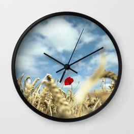 Popping up Wall Clock