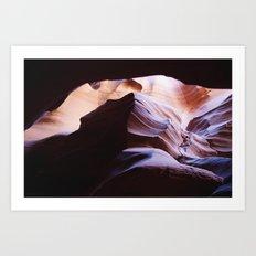 slot canyon Art Print