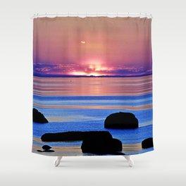 Colorful Dusk Shower Curtain