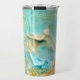 Onyx - blue and orange Travel Mug