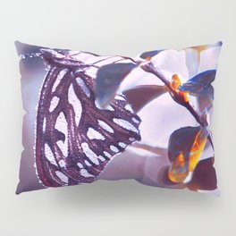 Silver Wings Pillow Sham