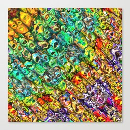 Spectral 3D Abstract Canvas Print