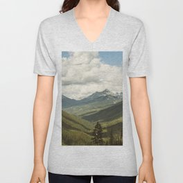 The Great Green Unknown Unisex V-Neck
