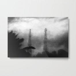 Smokes & Mirrors Metal Print