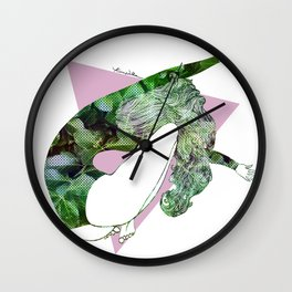 Exhilaration Wall Clock
