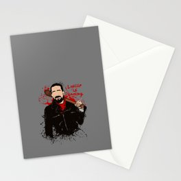 Lucille is coming Stationery Cards