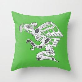 Cyber Punk American Throw Pillow