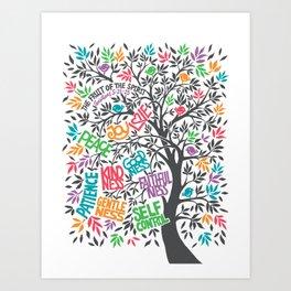 Fruit Of The Spirit (Full Color) Art Print