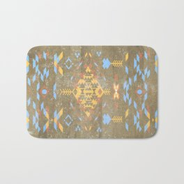 Native Aztec Bath Mat