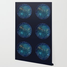 Star Map :: City Lights Wallpaper