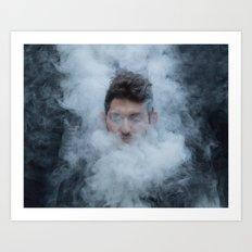 Cloudy Day, 2016 Art Print