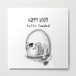 Fully Loaded Metal Print