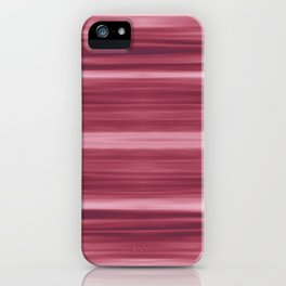 Abstraction Serenity in Rose iPhone Case