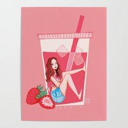 Blackpink Strawberry Jennie Poster
