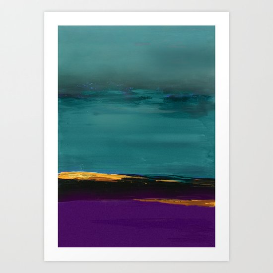 DUNES - Abstract landscape Art Print
