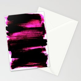black and pink Stationery Cards