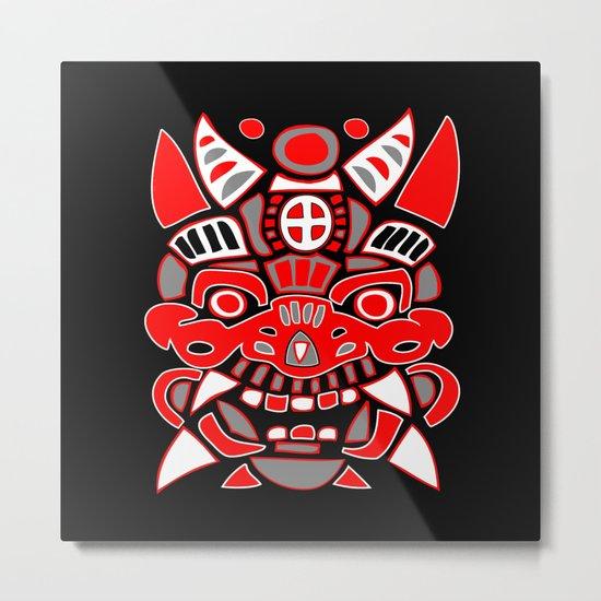 Fantasy Spirit Mask #1 Metal Print
