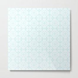 SNOWFLAKES III Metal Print