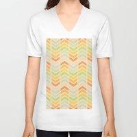 infinity V-neck T-shirts featuring Infinity by Skye Zambrana