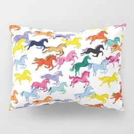 Rainbow Ponies Pillow Sham