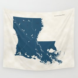 Louisiana Parks - v2 Wall Tapestry