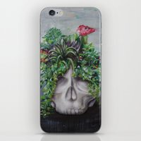 scully iPhone & iPod Skins featuring Scully XO by desirae samantha