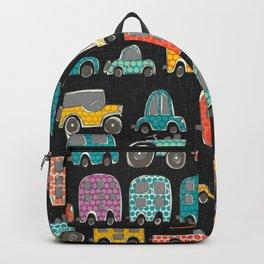 retro rides graphite Backpack