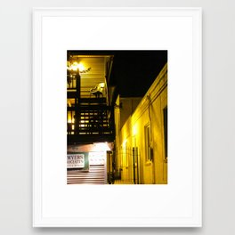 The Night Is So Alone Now Framed Art Print