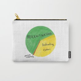 Office Funny Chart Carry-All Pouch