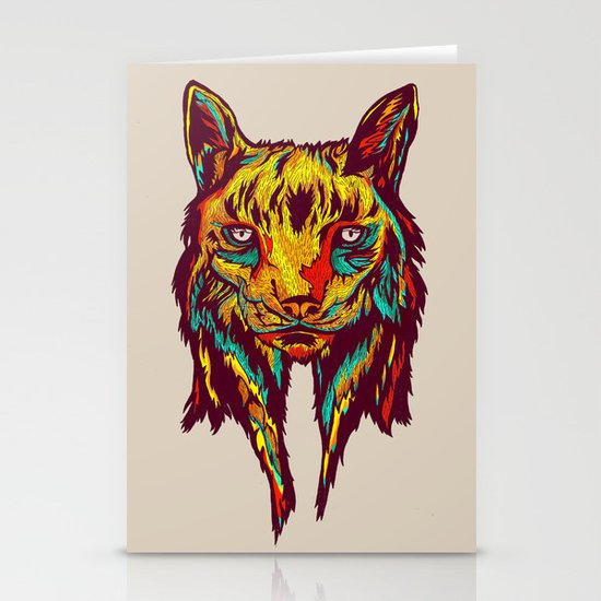 BE RARE* - Iberic Lince Stationery Cards