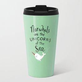 Wendell the Narwhal Travel Mug