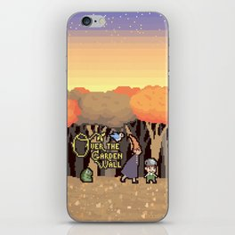 Over the Garden Pixel iPhone Skin