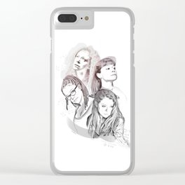 Orphan Black Clear iPhone Case