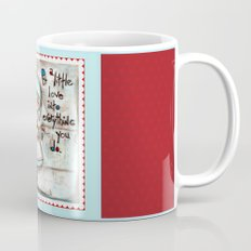 Made with Love - Heart String Tugger Mug