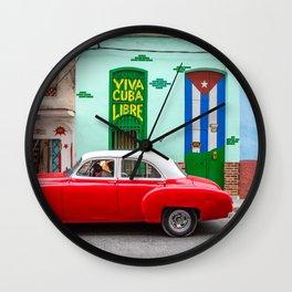 Cuba Libre II Wall Clock