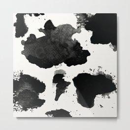 Water Color Rorschach Metal Print