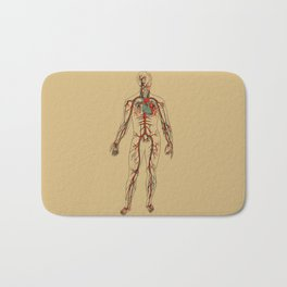 Circulatory System 2 Bath Mat
