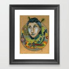 Kindermonsters Framed Art Print
