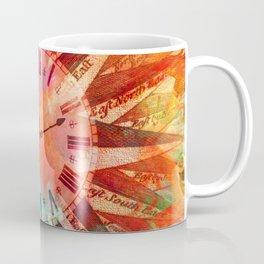 Synchronicity 11:11 Clock Face Time Design Coffee Mug