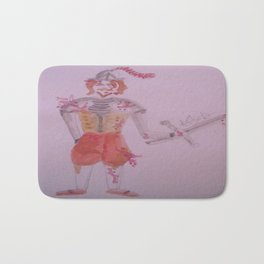 A Battle Scarred Conquistador. Bath Mat