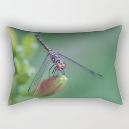 dragonflies are fairies in diguise Rectangular Pillow
