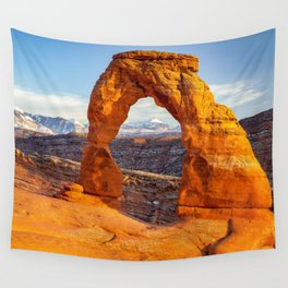 DELICATE ARCH SUNSET ARCHES NATIONAL PARK MOAB UTAH Wall Tapestry